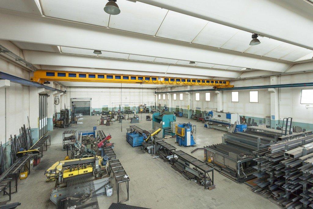 Ronco Costruzioni Metalliche, lo stabilimento di Chieri (TO)