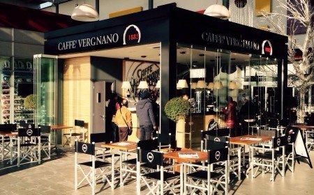 chiosco del caffè Vergnano