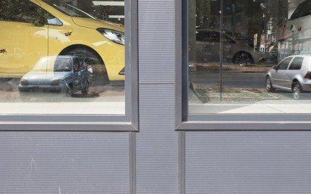 Vetrine in alluminio Opel