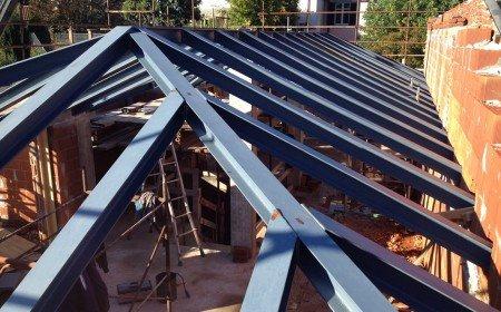 Copertura tetto metallica