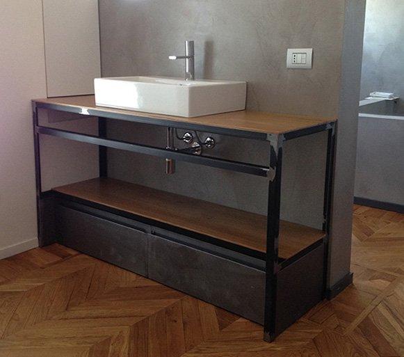 Mobili per bagno | Ronco Costruzioni Metalliche S.A.S.