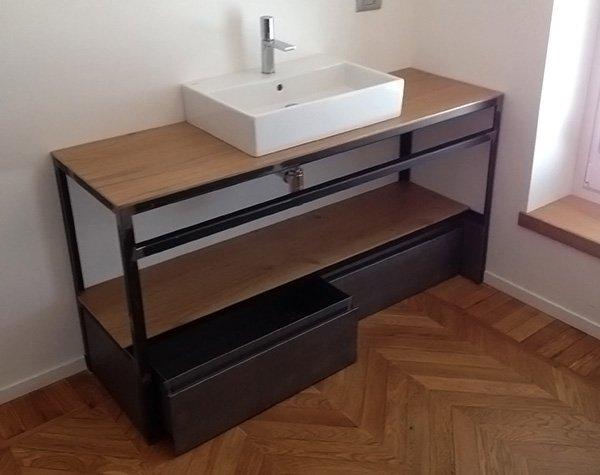 Mobili per bagno  Ronco Costruzioni Metalliche S.A.S.